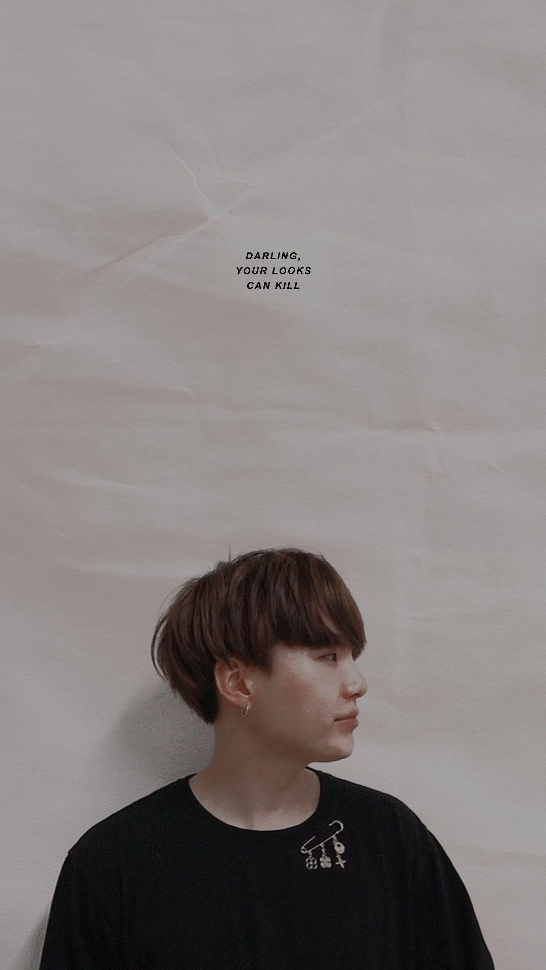 Bts Btswallpaper Aesthetic Suga Yoongi Wallpaper Lucu Fantasi Gelap Gambar