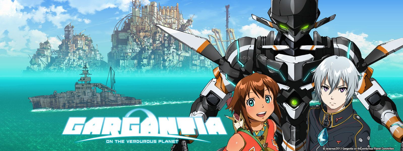 """Gargantia"" Loved the artwork in this one. Can't find a"