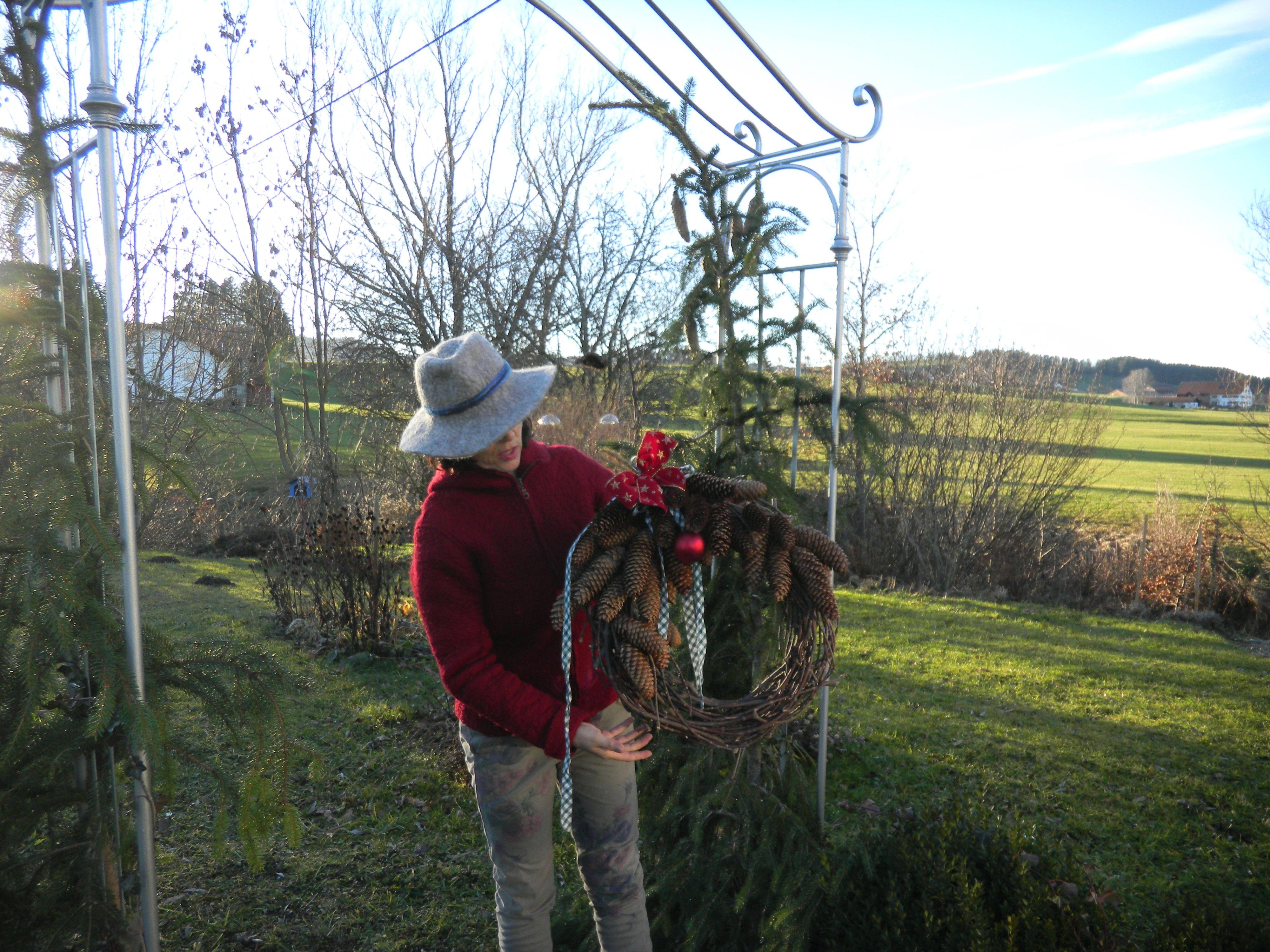winter wreath for my tigsto garden