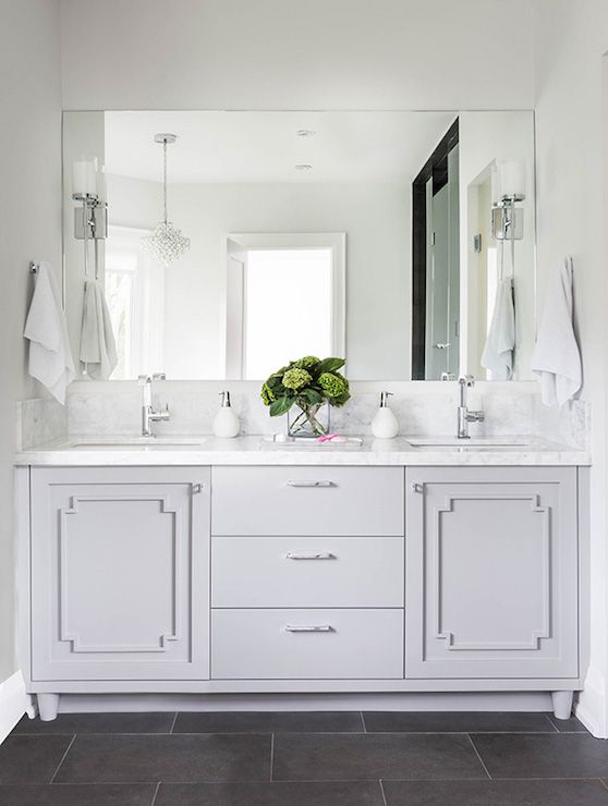 Bathroom Vanity Moldings Transitional Bathroom Jodie Rosen