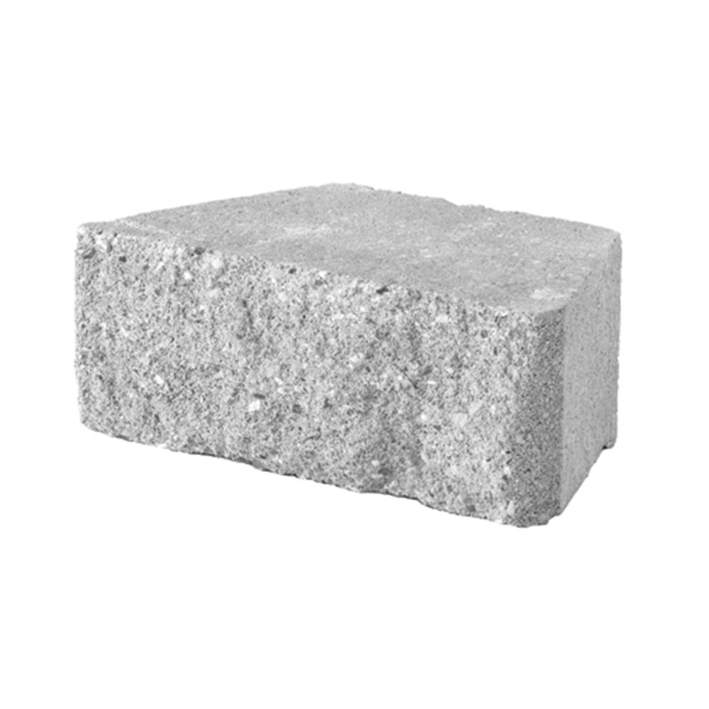 Pavestone 3 In X 10 In X 6 In Gray Concrete Wall Block 280 Piece 58 4 Sq Ft Pallet 80700 The Home Depot In 2020 Concrete Wall Concrete Retaining Walls Retaining Wall