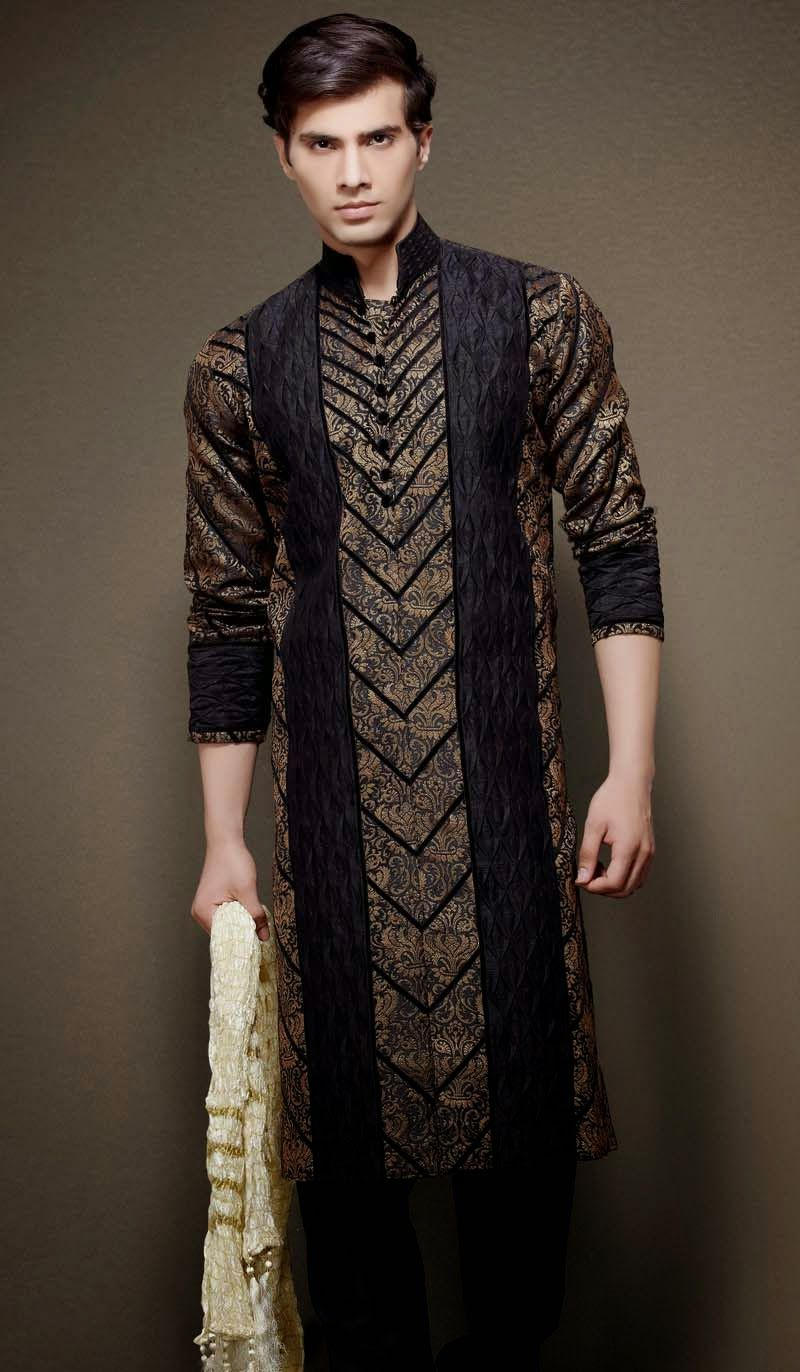 Irresistible velvet patch kurta for men only at ub