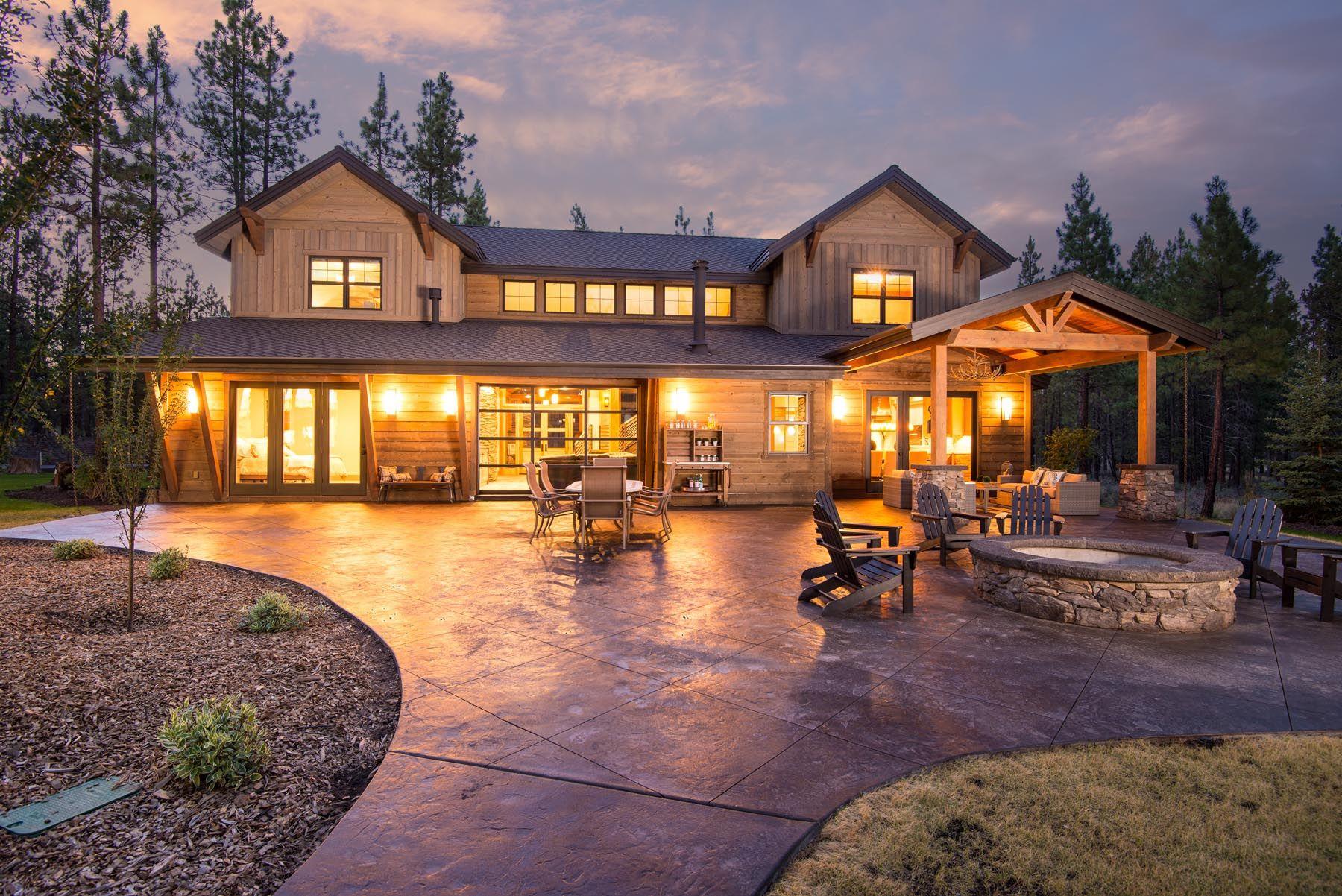 Custom Homes Photo Gallery - Custom Home Builders in Bend Oregon   Pacific Home Builders ...