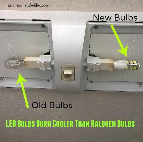 Why You Should Change Your Rv Lights To Led Rv Camper Led Lighting Hometalk Spring