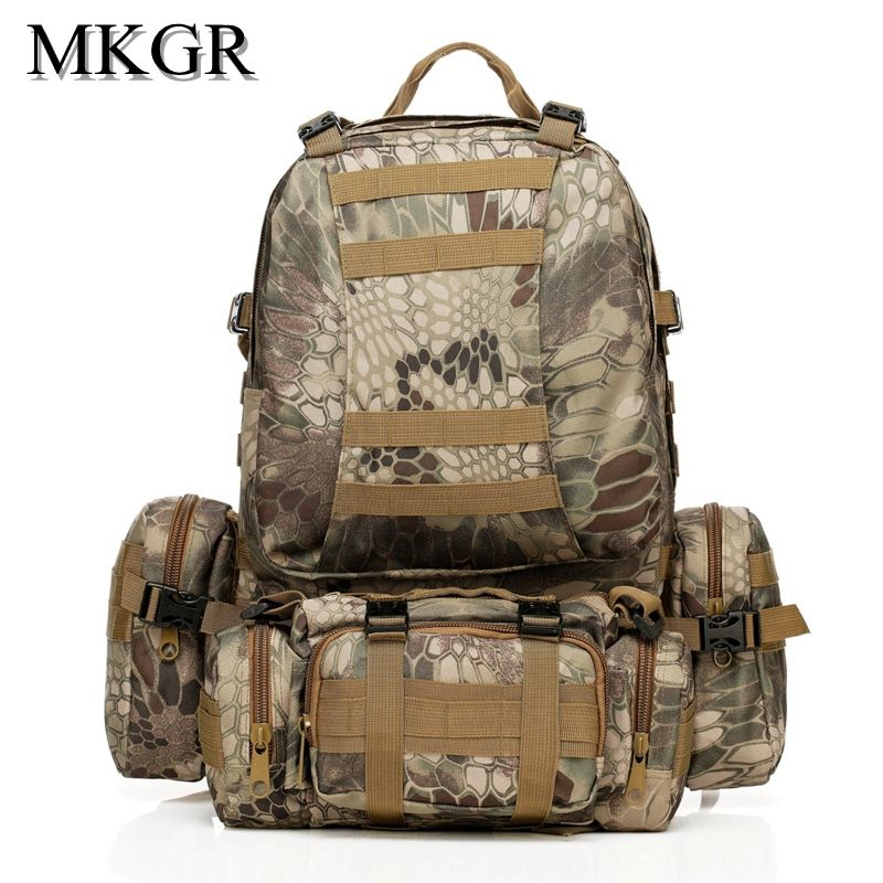 50L Military Backpack Men Waterproof Camouflage Backpacks  3712f3ca1ce50
