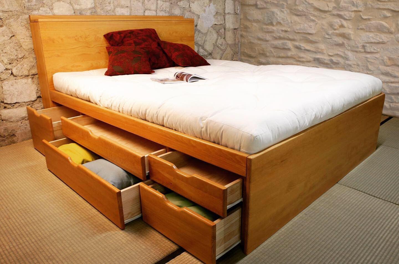 epingle sur lit tiroir