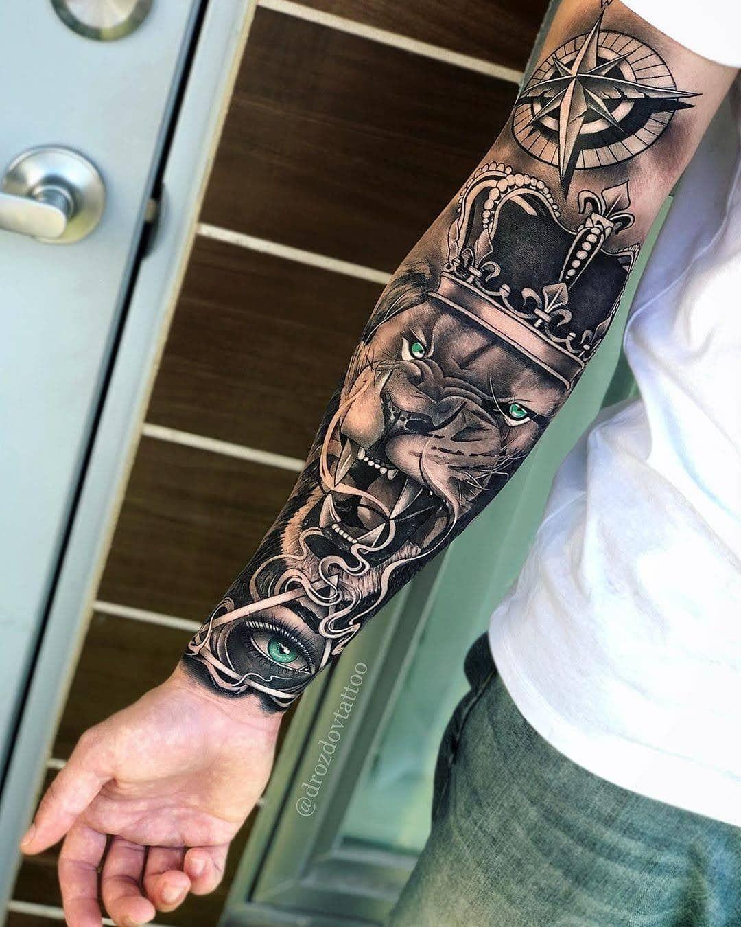 Pin De Gaston Robles En Art Tatuajes Para Hombres En El Antebrazo Hombres Tatuajes Tatuajes