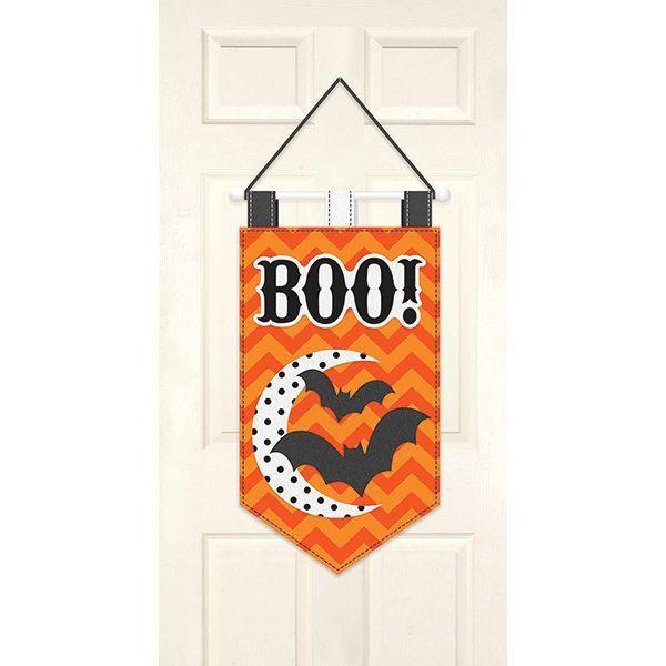 Modern Halloween Door Banner Modern halloween, Banners and Happy
