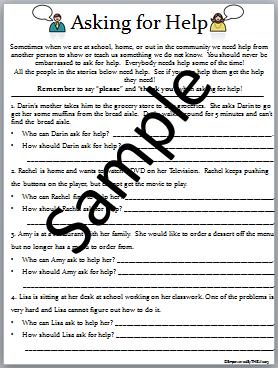 33++ Asking for help worksheets Information