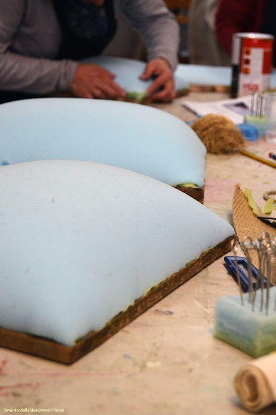 Taller de tapicer a paso a paso m tapicer a - Talleres de tapiceria ...
