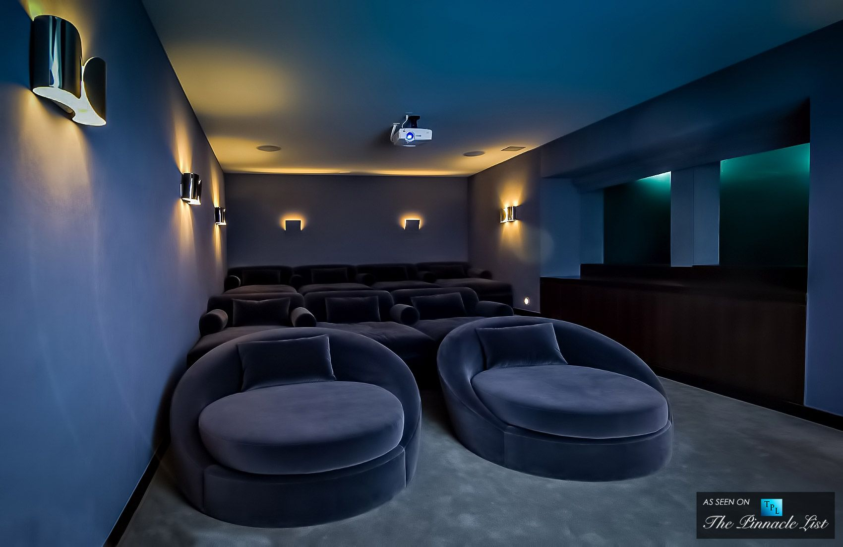 home theater hopen place residence 9010 hopen place los angeles ca interiors misc. Black Bedroom Furniture Sets. Home Design Ideas