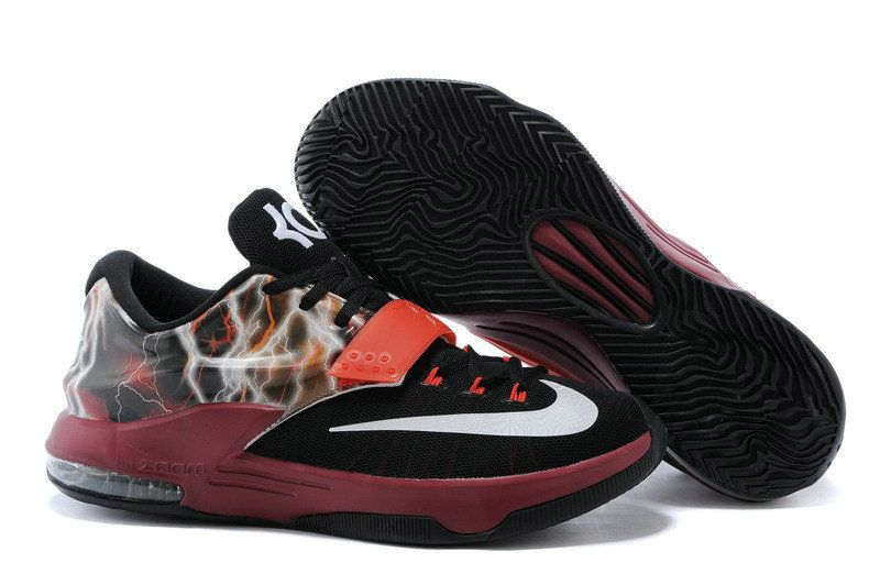 pretty nice 38175 90828 ... coupon code for kd 7 newest id lightning uprising athracite silver dark  red leopard print d776d