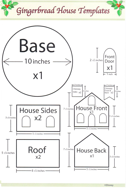 ginerbread_layout.png 825×1,228 pixels | пряничные домики - чертежи ...