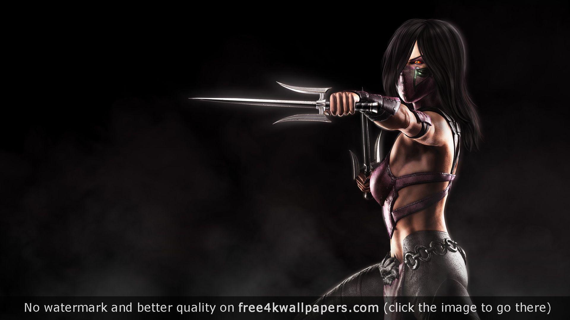 Mileena Mortal Kombat X Desktop Wallpapers Pinterest Mortal