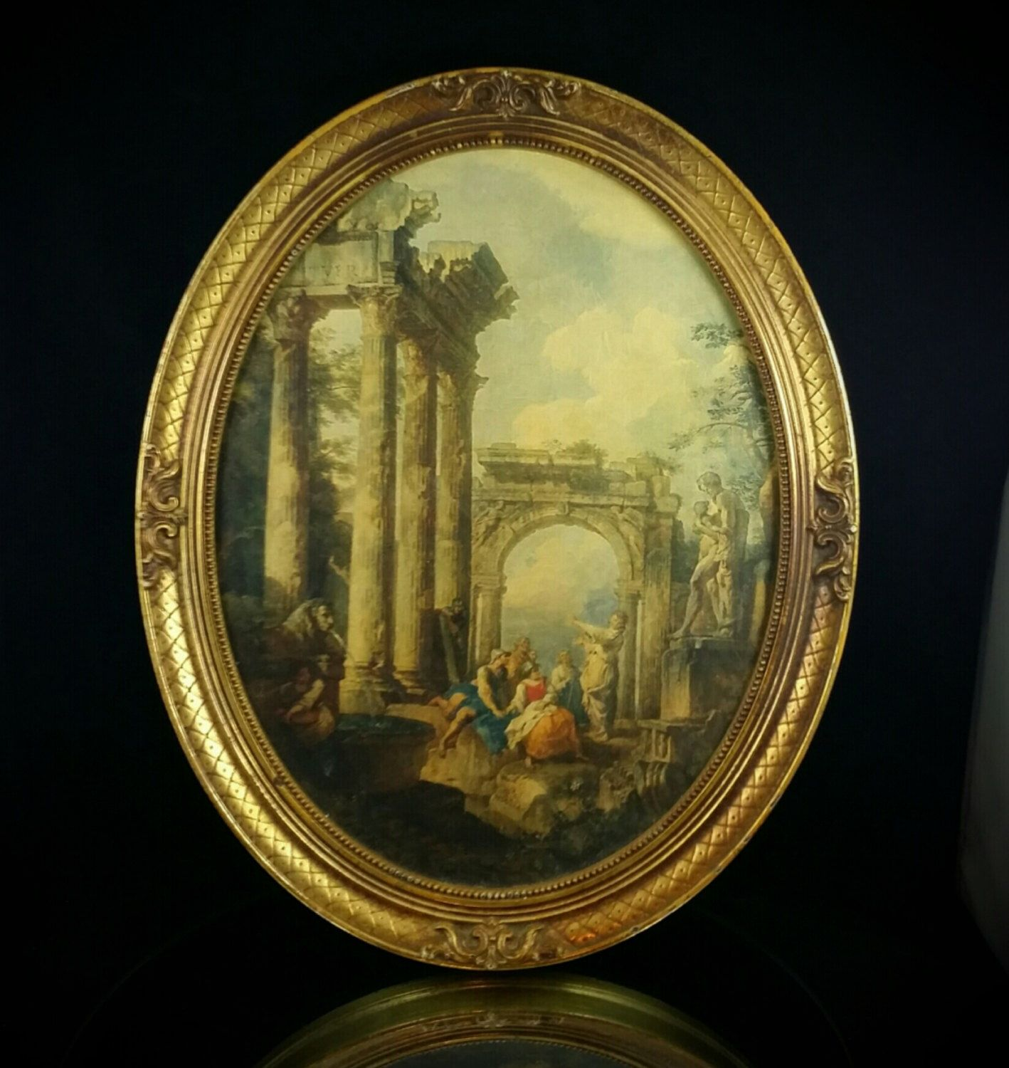 Turner Roman Ruins Framed Art Print Painting French Wall Art by ...