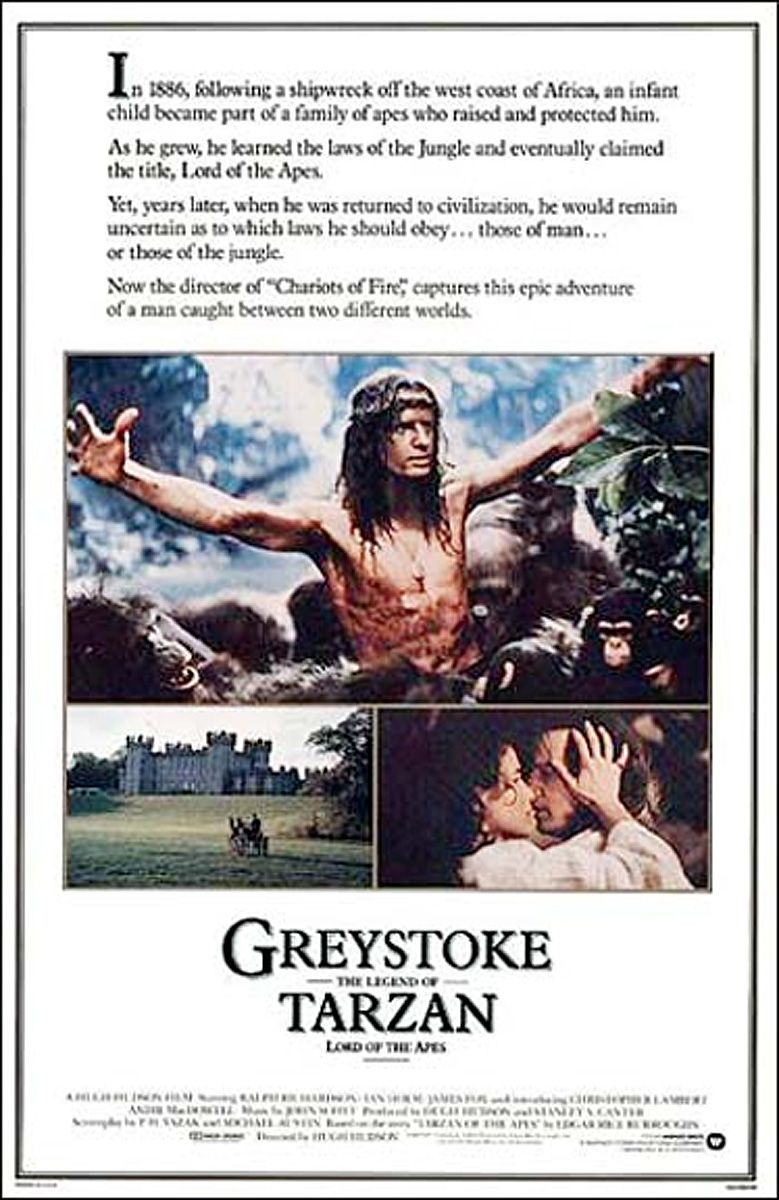 film greystoke la légende de tarzan gratuit