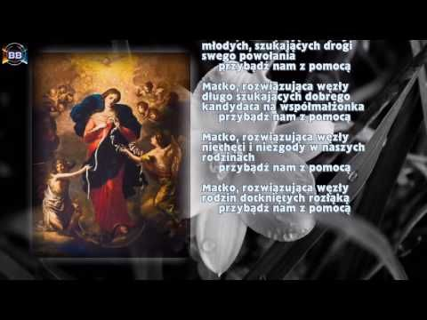 Litania do Matki Bożej Rozwiązującej Węzły - YouTube | JEZU