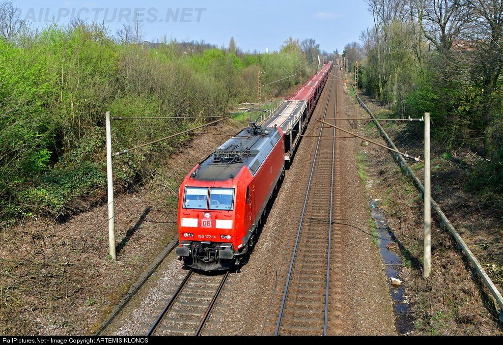 185 1724 Deutsche Bahn AG DB AG, BR 185 at Hannover