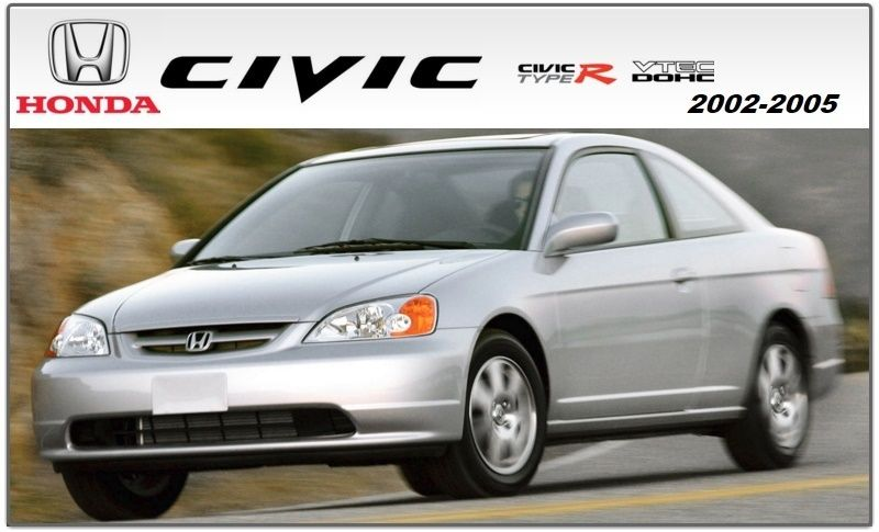 honda civic 2001 2005 repair service manual banners pinterest rh pinterest com 2001 honda civic dx repair manual honda civic 2001 repair manual free