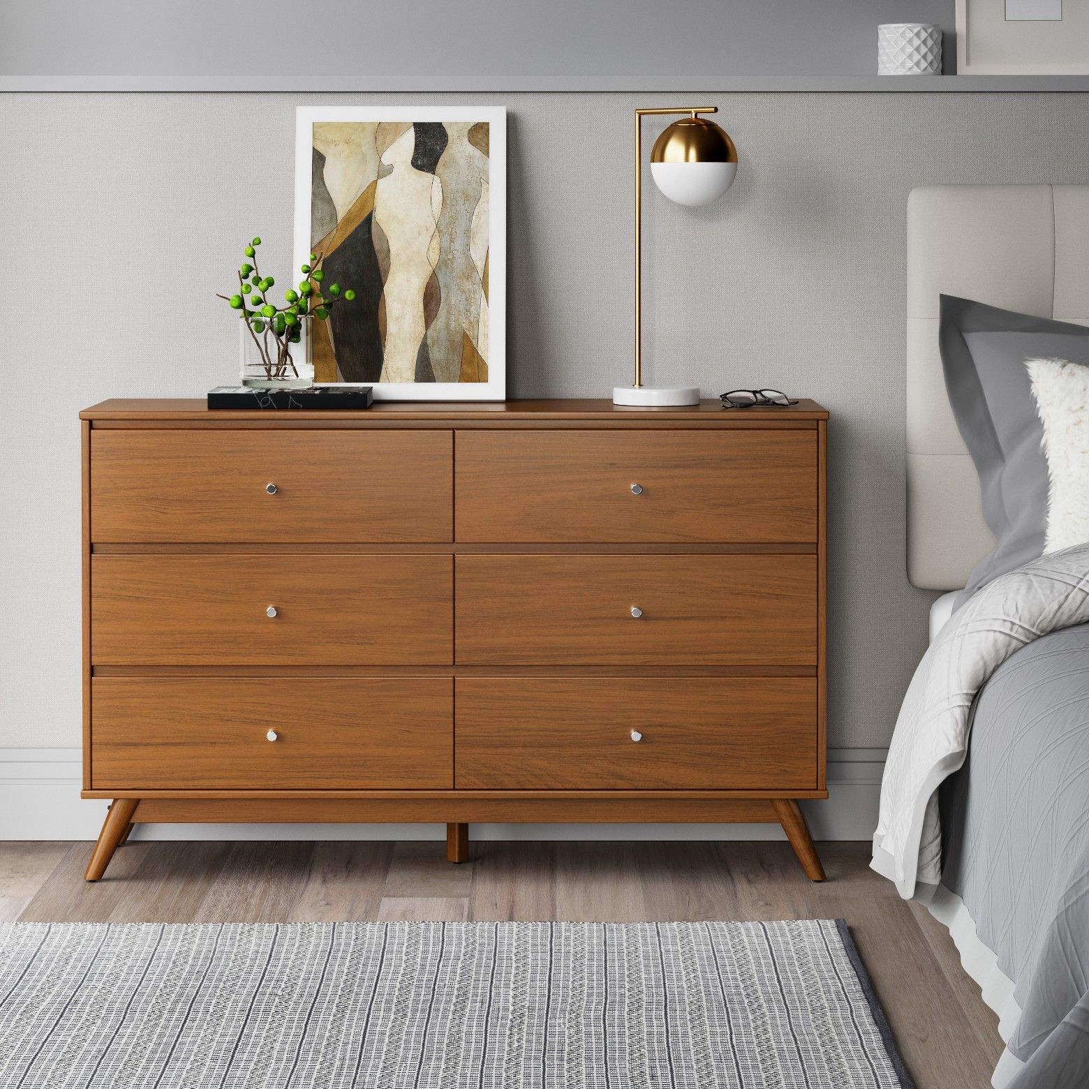 Amherst Horizontal Dresser Project 62 In 2020 Storage Furniture Bedroom Home Six Drawer Dresser