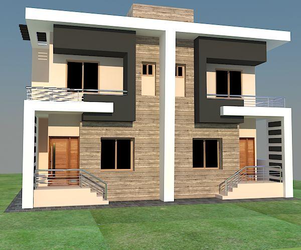 House Plans Duplex Plans Row Home: Bungalow House Design