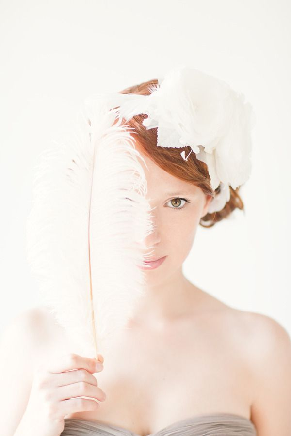 feathered flower Accessory by sibodesigns.com