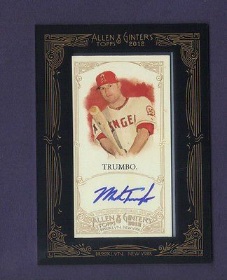@Store_Club_Fan : 2012 Topps Mark Trumbo Auto Framed Mini Allen & Ginter Autograph AGA-MT Angels https://t.co/fABYiXiaca https://t.co/JD4u3RUsO8