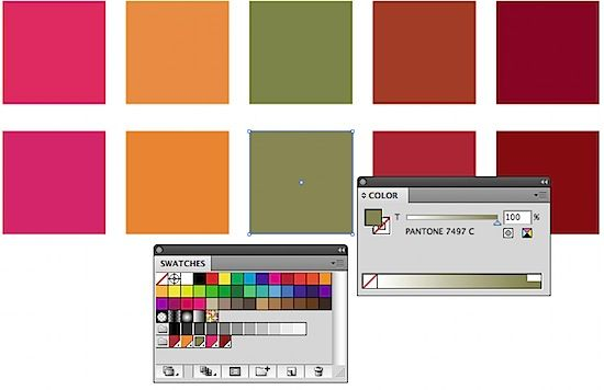 convert cmyk swatches to pantone numbers in illustrator adobe design graphic tutorials serenity color 2020