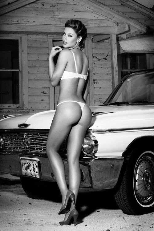 Cars girl classic model picture