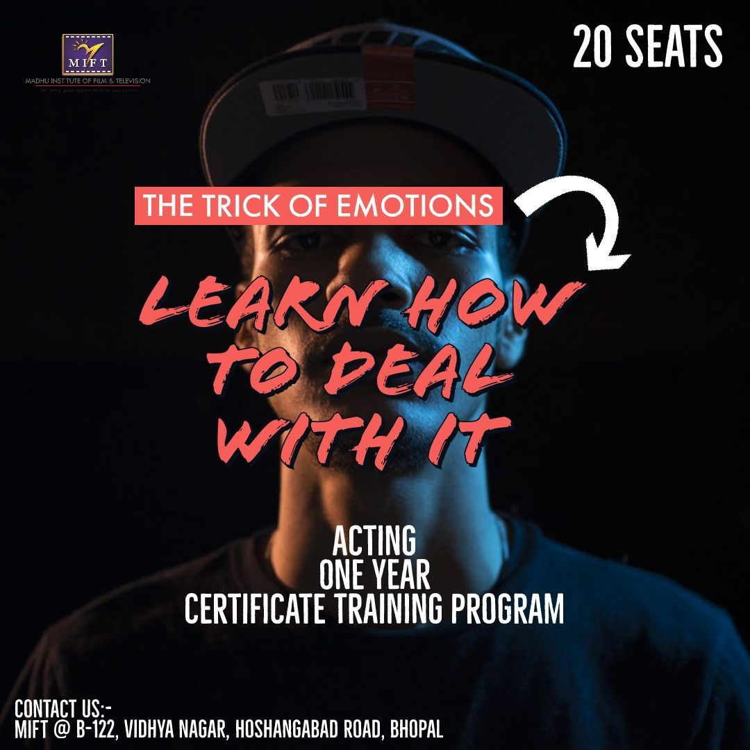 Admission Open: Acting 1 Year Certificate Training Program
