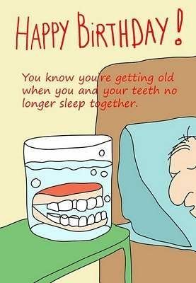 25 Funny Humor Birthday Quotes Posters Sayings Card Senitments