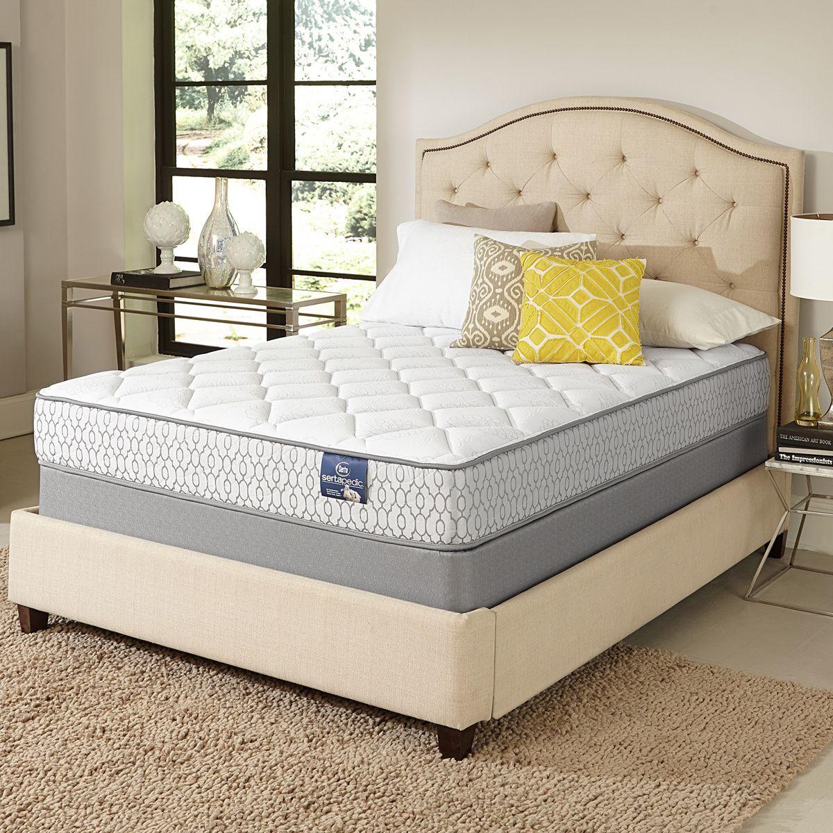 serta amazement plush queen size mattress set by serta mattress