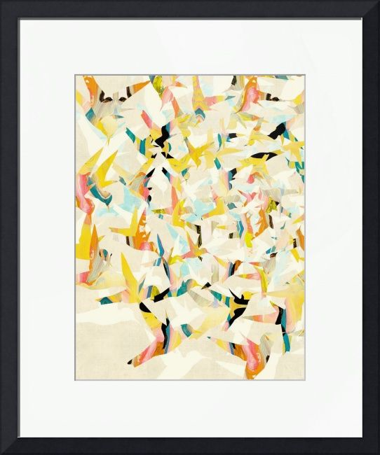 Color Migration on Cream by Cozamia Art