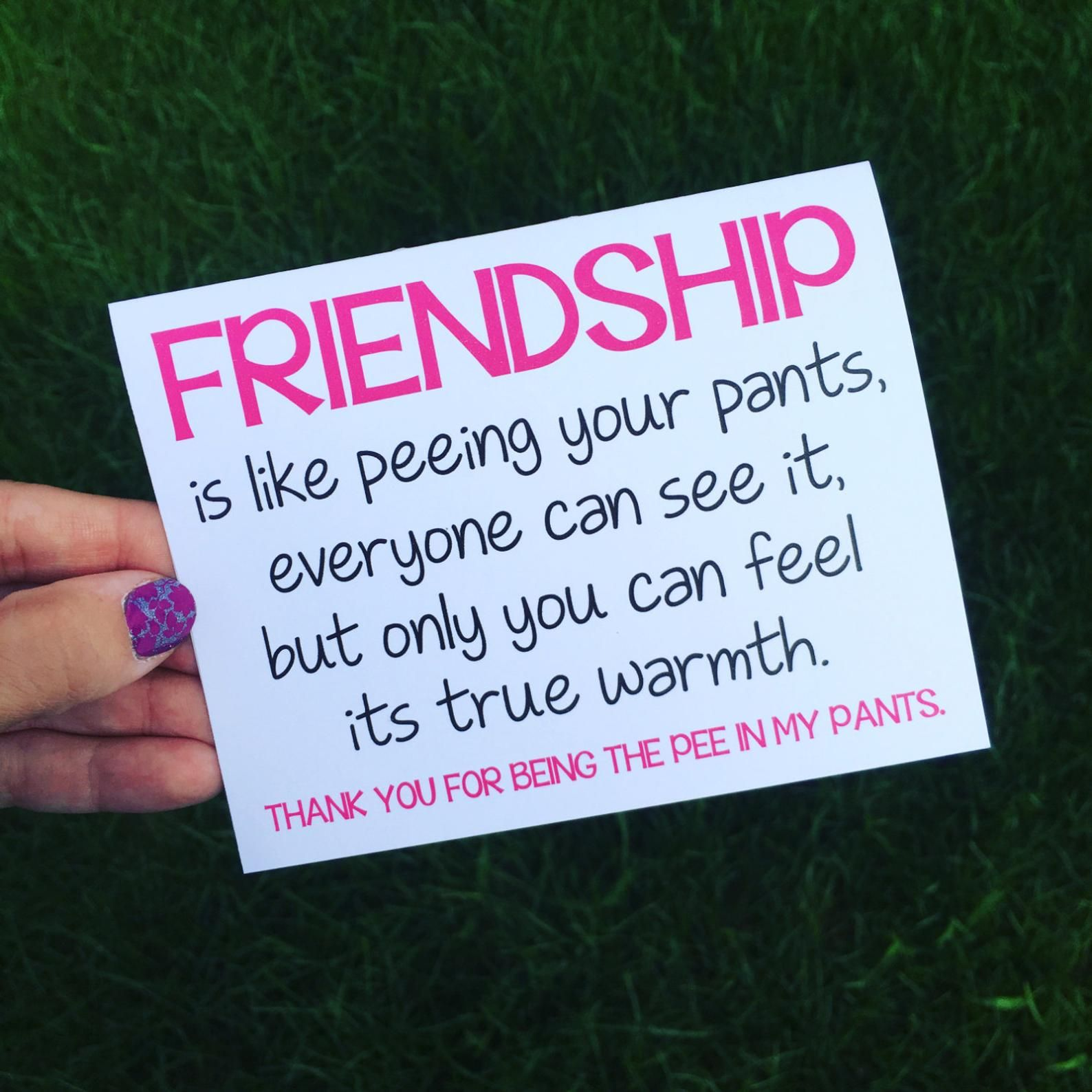 Funny Friendship Card Funny Card For Best Friend Funny Long Distance Friendship Card Best Friend Card Thank You Card Friend Best Friends Funny Best Friend Quotes Funny Friends Quotes Funny