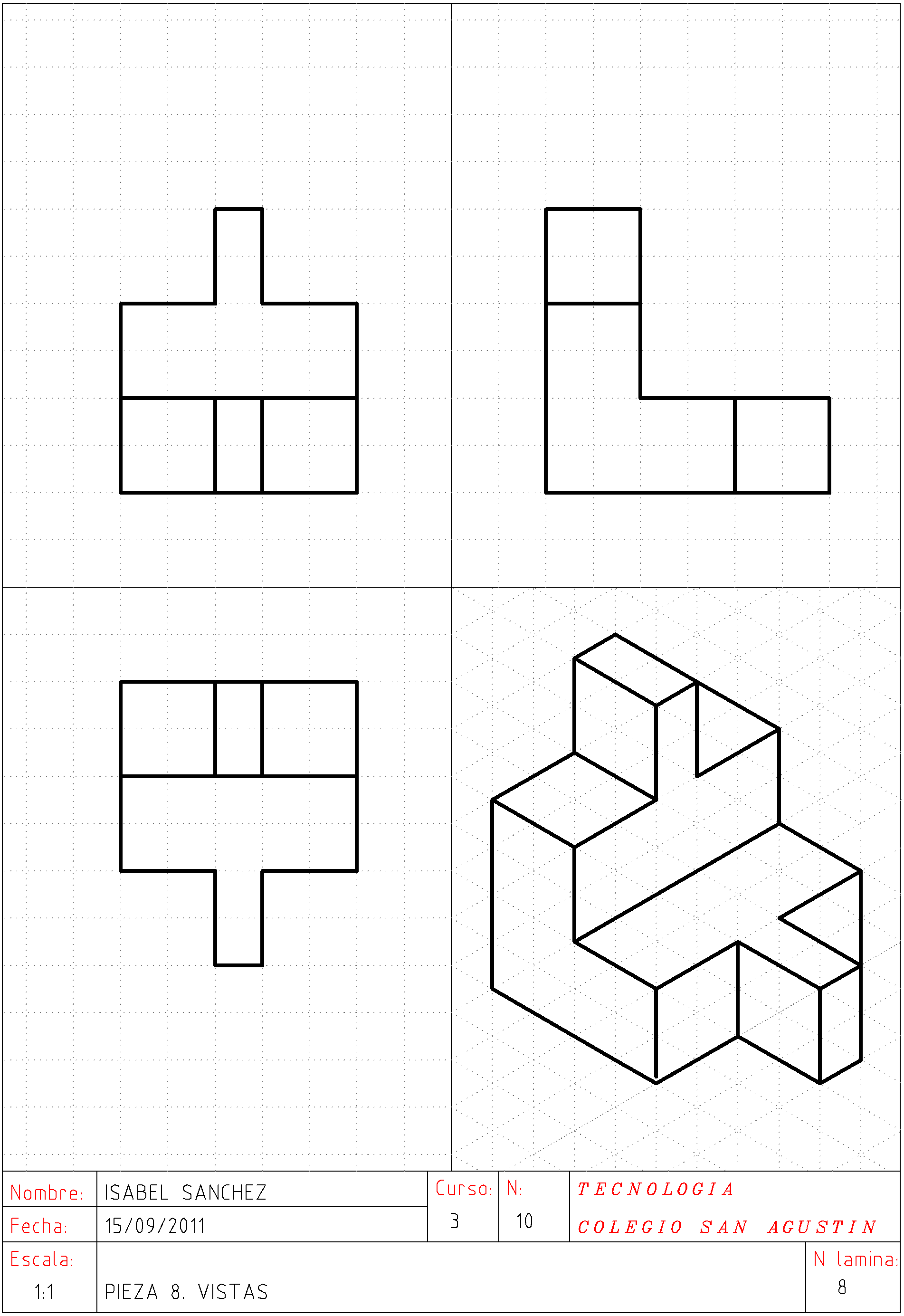 Imagen Relacionada Tecnicas De Dibujo Vistas Dibujo Tecnico Clases De Dibujo