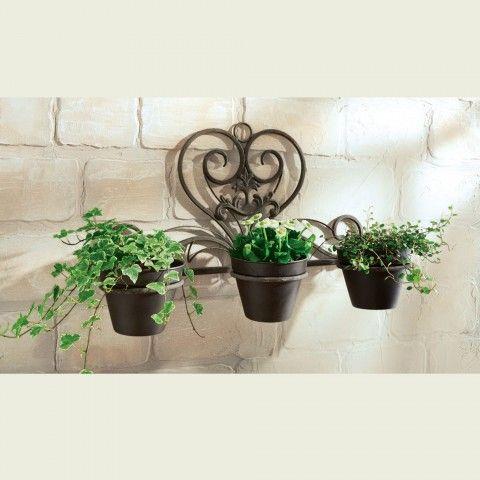 Beliebt wand blumentopf, blumentopf wand, Garten Maditerran, pflanzgefäße ED81