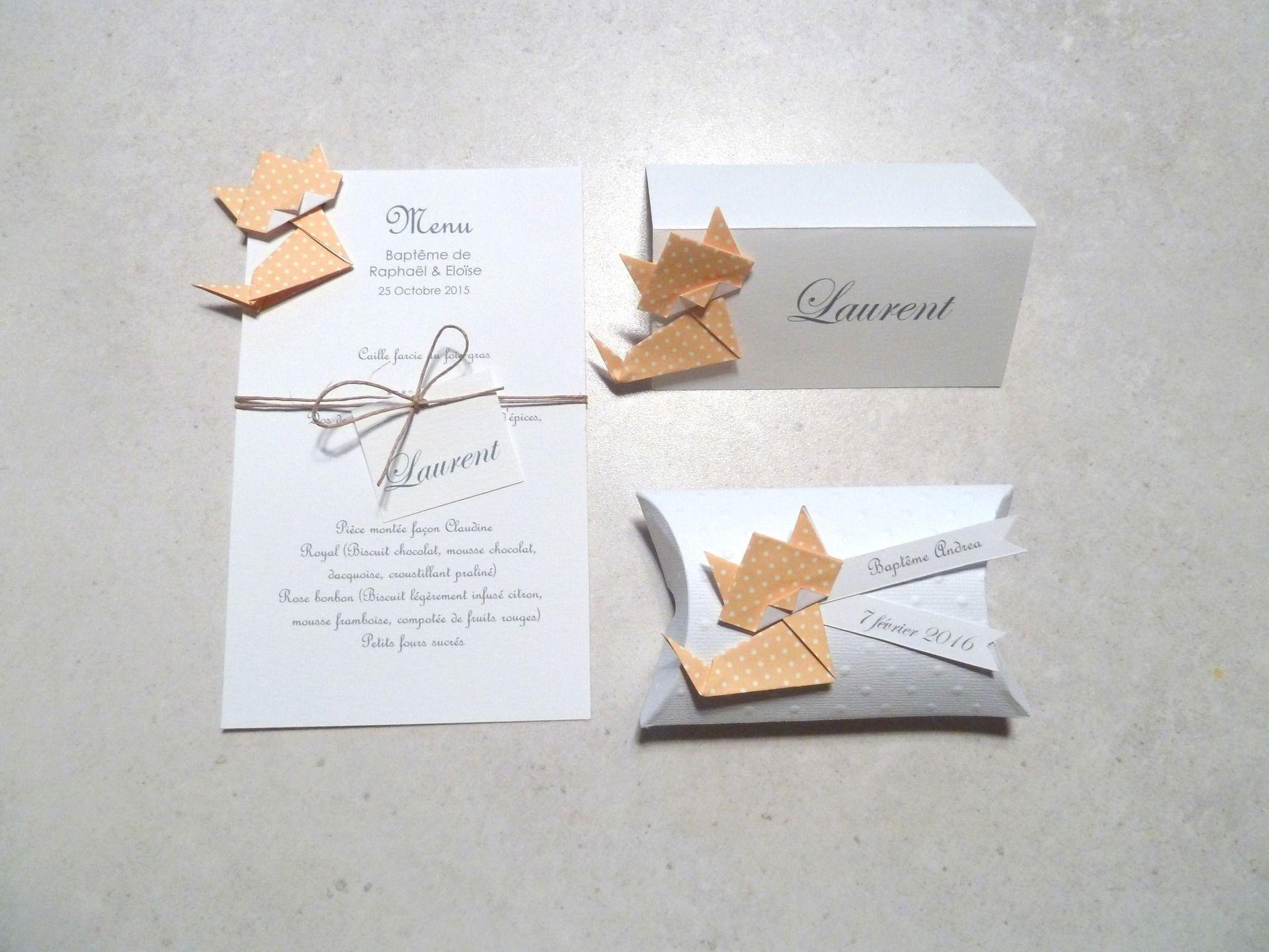bo te drag es coussin chat en origami papier jaune pois cadeau de remerciement invit s. Black Bedroom Furniture Sets. Home Design Ideas