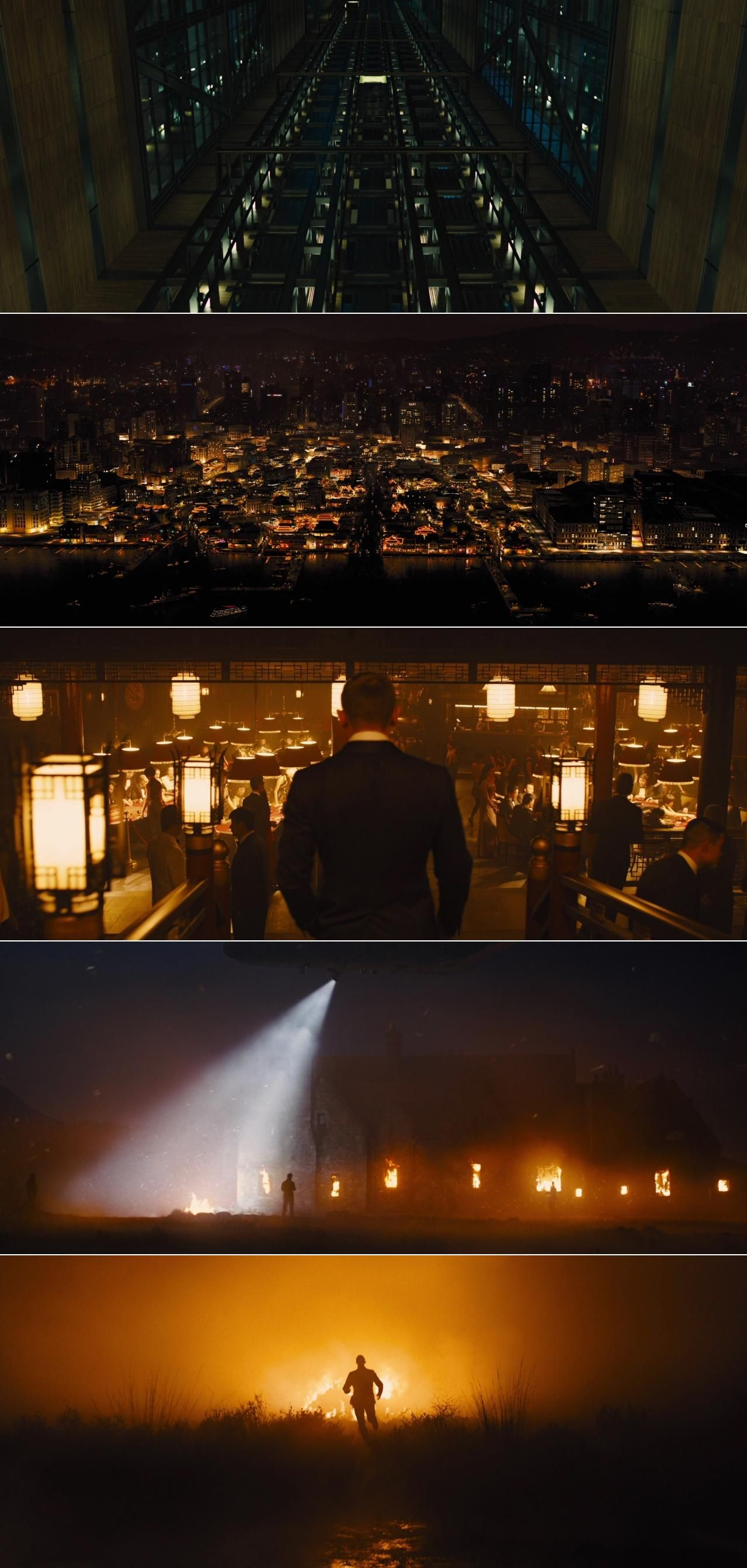 skyfall 2012 cinematography by roger deakins directed by sam