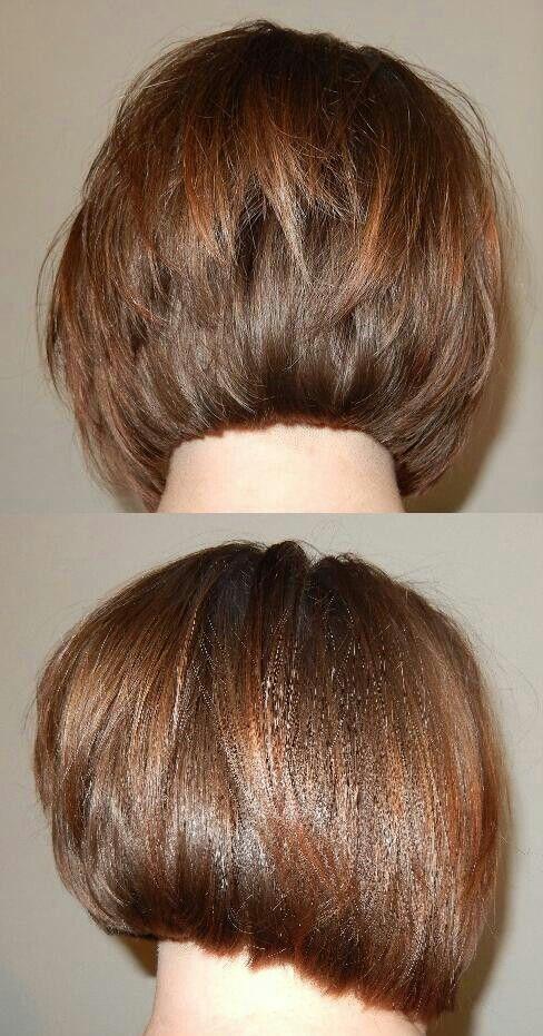 A Line Haircut Back View Hair Hair Cuts Hair Styles Hair