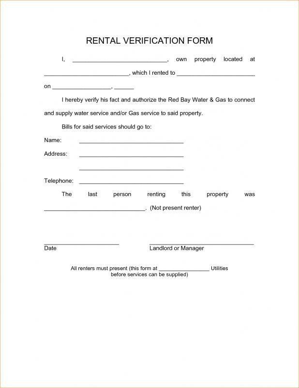 Employment Verification Form Template template Pinterest Template