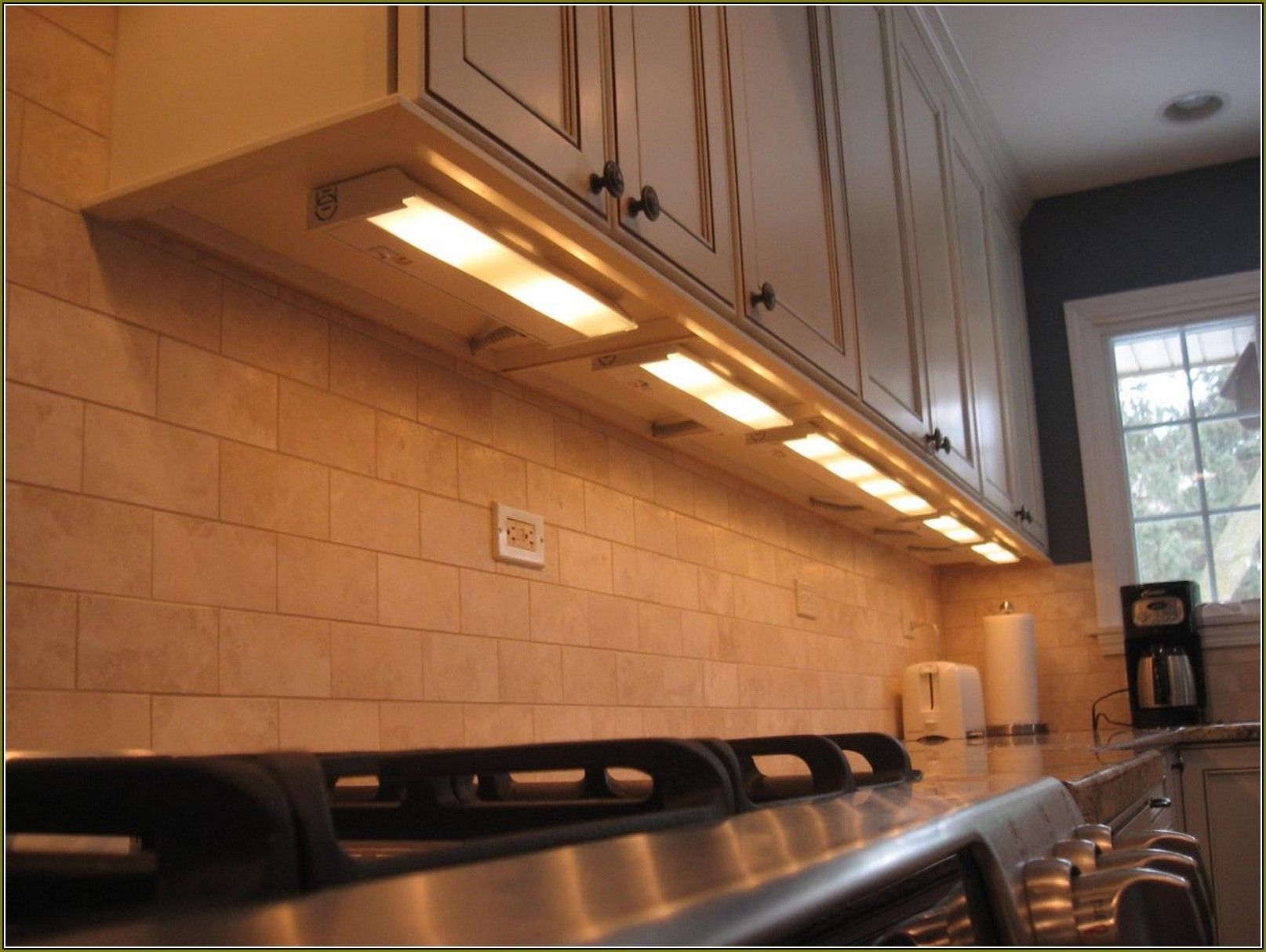 120 Volt Hardwire Under Cabinet Lighting Light Kitchen Cabinets Under Cabinet Lighting Under Counter Lighting
