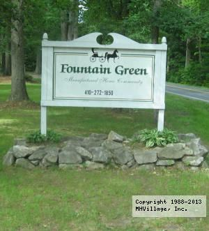 Fountain Green Mobile Home Park In Bel Air Md Mobile Home Parks Bel Air Fountain