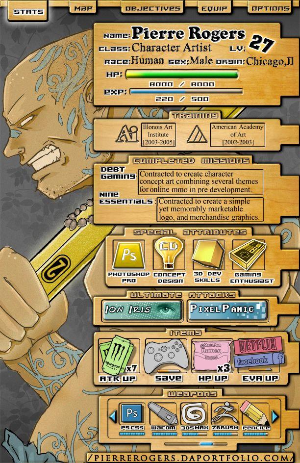 Cv 2 0 Game Like Hi Re Social Medium Creative Resume Creative Cvs Games