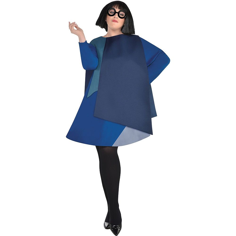 Womens Edna Mode Costume Plus Size Incredibles 2 Costumes For Women Plus Size Costumes Edna Mode