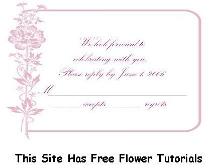wedding-rsvp-example-06ajpg (432×330) keepsake Pinterest - party rsvp template