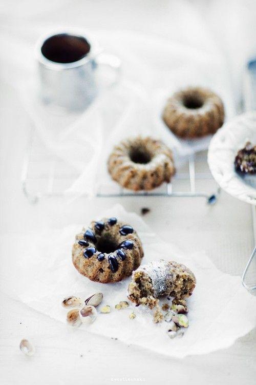 Muffins de pistacho
