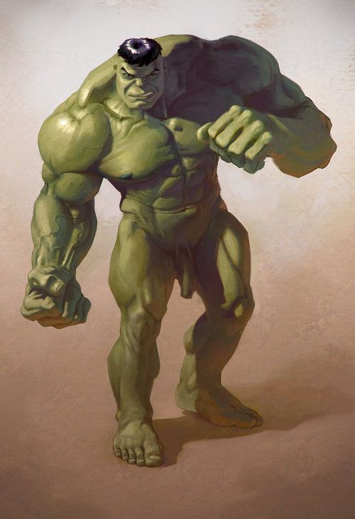 Incredible hulk naked