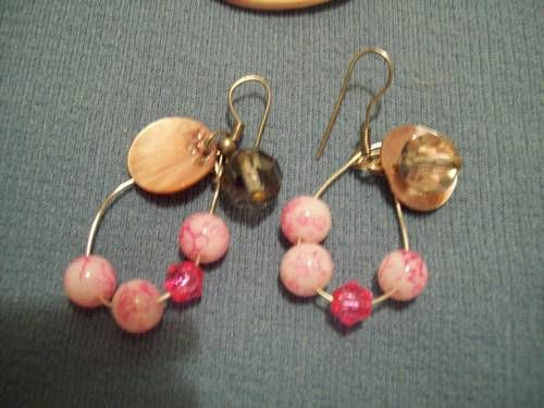 Fashion Handcrafted Jewelry  2 piece sets.All made  by  me.