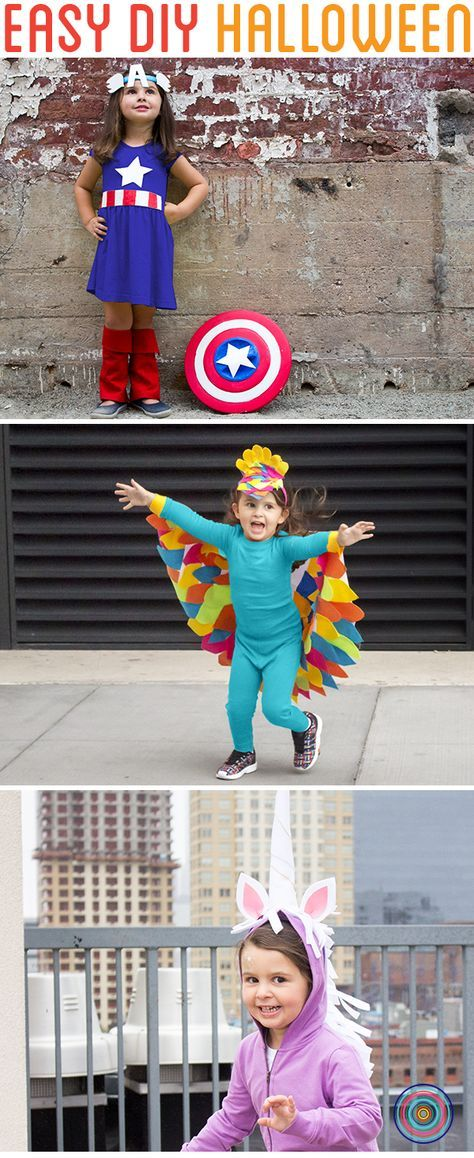 Start your DIY kids costume with Primary\u0027s super soft PJs in - super easy halloween costume ideas