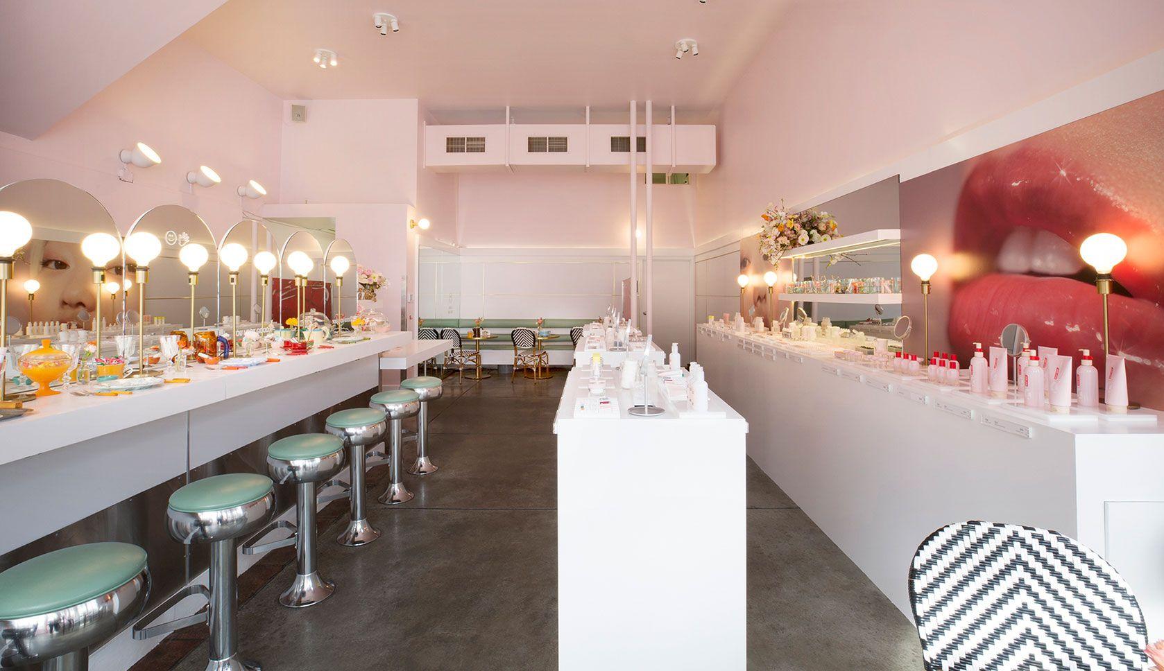 Glossier's San Francisco PopUp is a Tasty Treat Rue